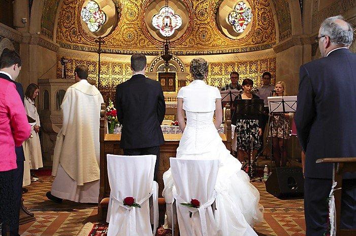 Hochzeit - Trauung - Brautpaar